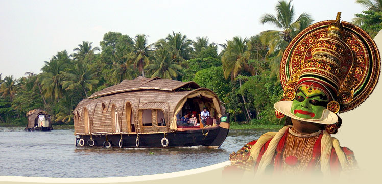 Kerala with The Golden Triangle